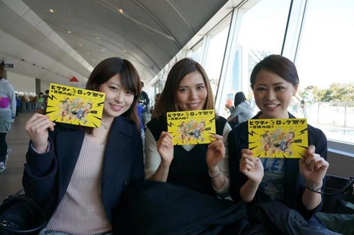 左から武田奈々さん、上西麻希さん、右がわたくし庭田麻美。