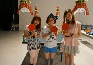 卓球博覧会・後編あの四元奈生美選手と真剣卓球勝負!しちゃいました。