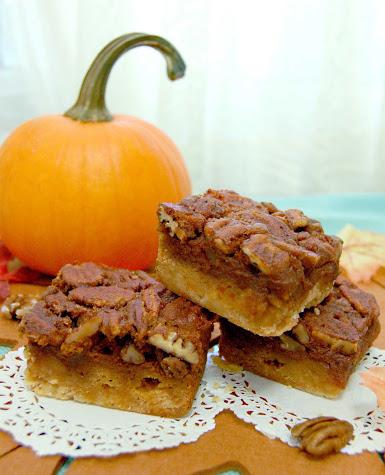 pumpkin pecan bar