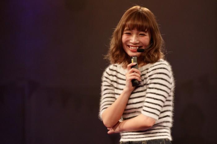 ファッションモデルの鎌田亜里沙さん