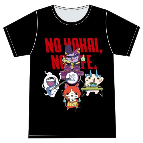 予約開始後に即完(※現在は追加販売中)の黒Tシャツ(バンドバージョン)。