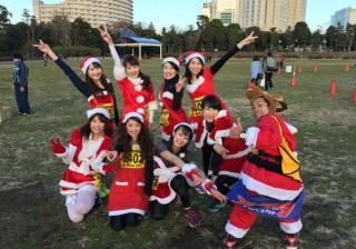"""【快挙!?】anan総研マラソン部が""""お台場クリスマスHAPPYマラソン""""で…。"""