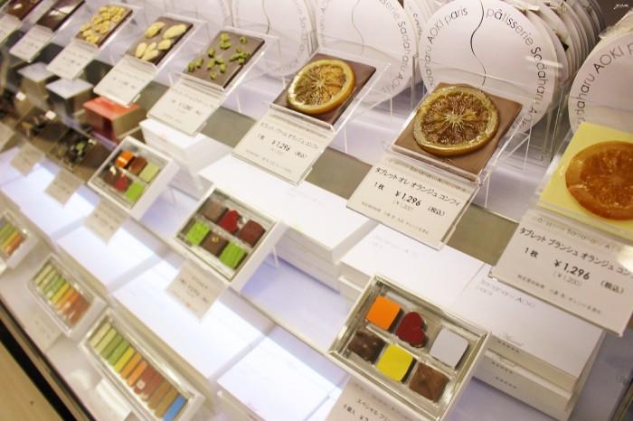 パティスリー・サダハル・アオキ・パリのチョコレート。