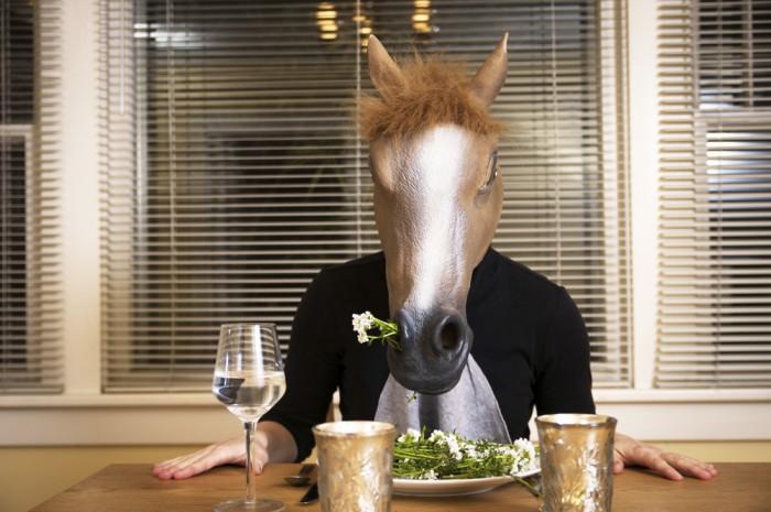 サラダ、頼んでおきました。