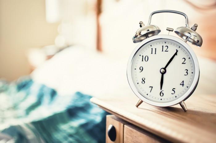 早く起きた朝に。