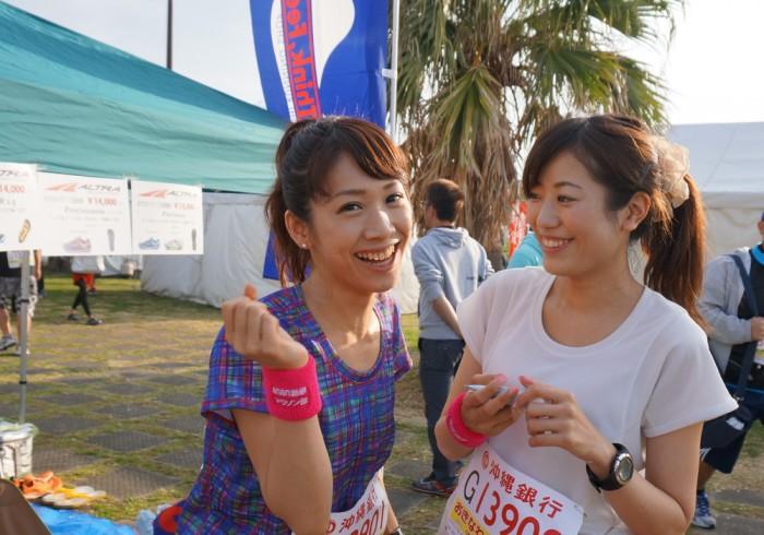 左から、斉井夕絵さん、鈴丘めみさん。