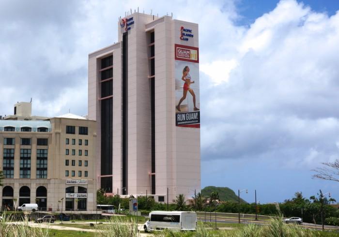 我々の本拠地「PACIFIC ISLANDS CLUB」。アクティビティ満載のステキなホテルでした。