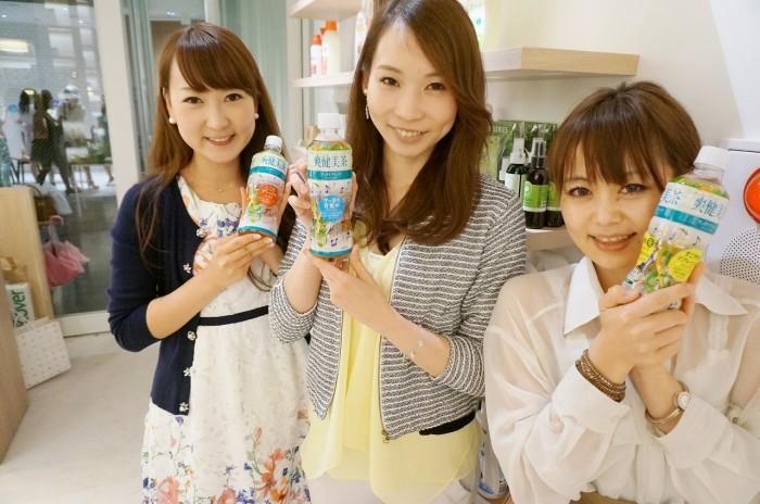 左から能美 黎子さん(No. 57)、平沢 由貴さん(No. 75)、平山 友美子さん(No. 24)。