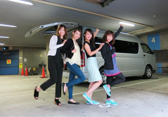 左から、高木晴香さん(no.142)、平沢由貴さん(no.75)、木下紗安佳さん(no.53)、村上ゆきさん(no.172)。