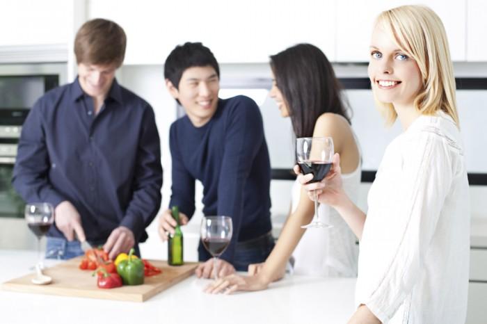 ホームパーティは料理でアピールすべし!