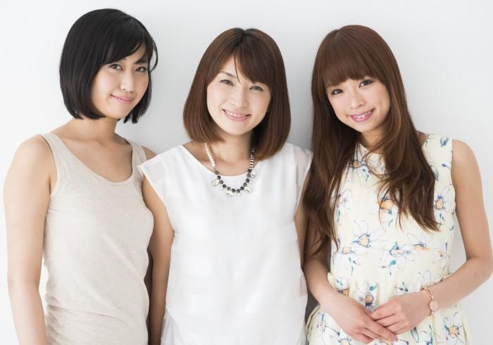左から、西村茉旺さん(No.134)、村上ゆきさん(No.172)、古角 夕貴さん(No.238)。