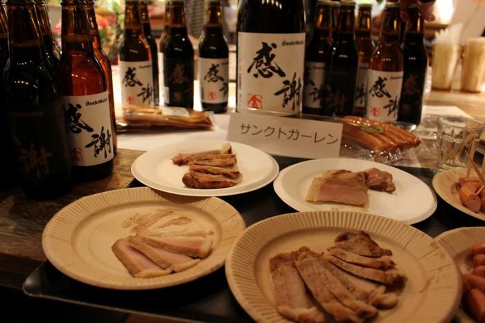 焼き豚やウィンナーなどの加工肉はお酒も進むこと間違いなし!