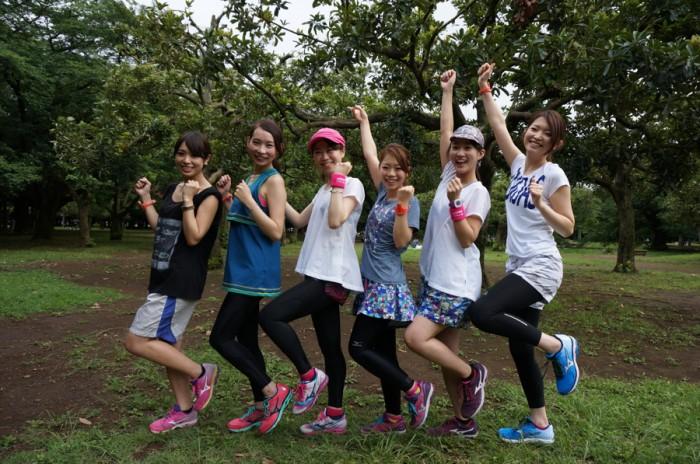 左から、片桐優妃さん(no.115)、平沢由貴さん(no.75)、浅井裕美さん(no.80)、遠藤朋美さん(no.65)、木下紗安佳さん(no.53)、豊田祥子さん(no.234)。