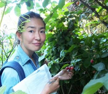 訪ねたガーデンやファームには食べられる木の実がいっぱい。カリフォルニアの土地の豊かさを実感。(写真・藤井麗美)