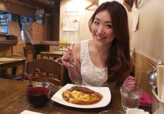 ネイリスト津野亜久里さんと「チャモロ」に行って、オムネイルをしてもらってきた。私をオムライスに連れてって! vol.5