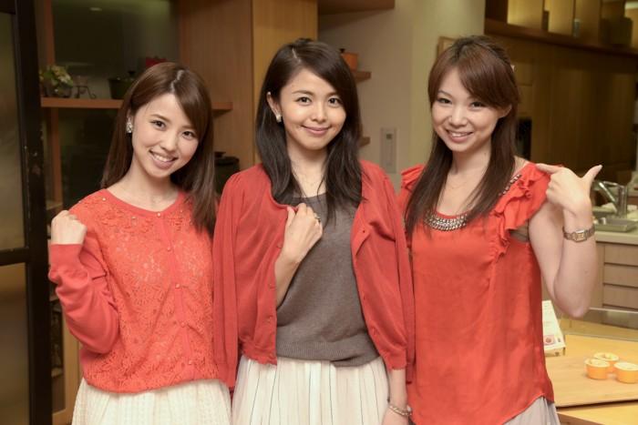 左からさん(no.)、佐藤りかさん(no.)、柴本愛沙さん(no.)