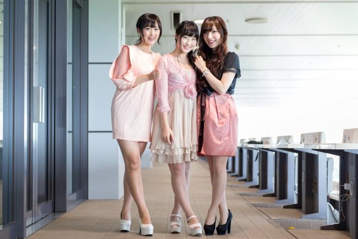 左から、なつさん(No.246)、吉田まりみさん(No.153)、五位渕のぞみさん(No.158)。
