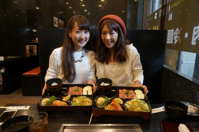 レストラン松井で「塩タン定食」。