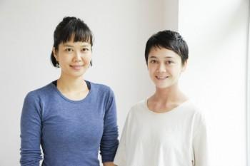 左・島田麻衣先生、右・新井くるみ先生。