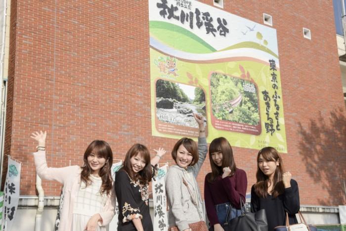 左から、平田みくさん(No.056)、柴本愛沙さん(No.018)、久本実雅子さん(No.082)、武市彩花さん(No.147)、片桐優妃さん(No.115)