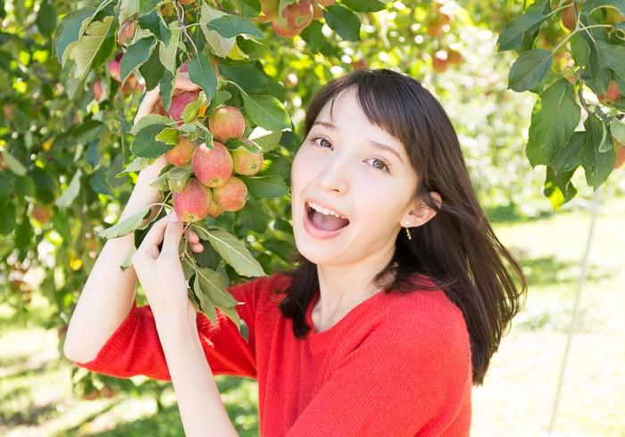 姫リンゴ小さーい