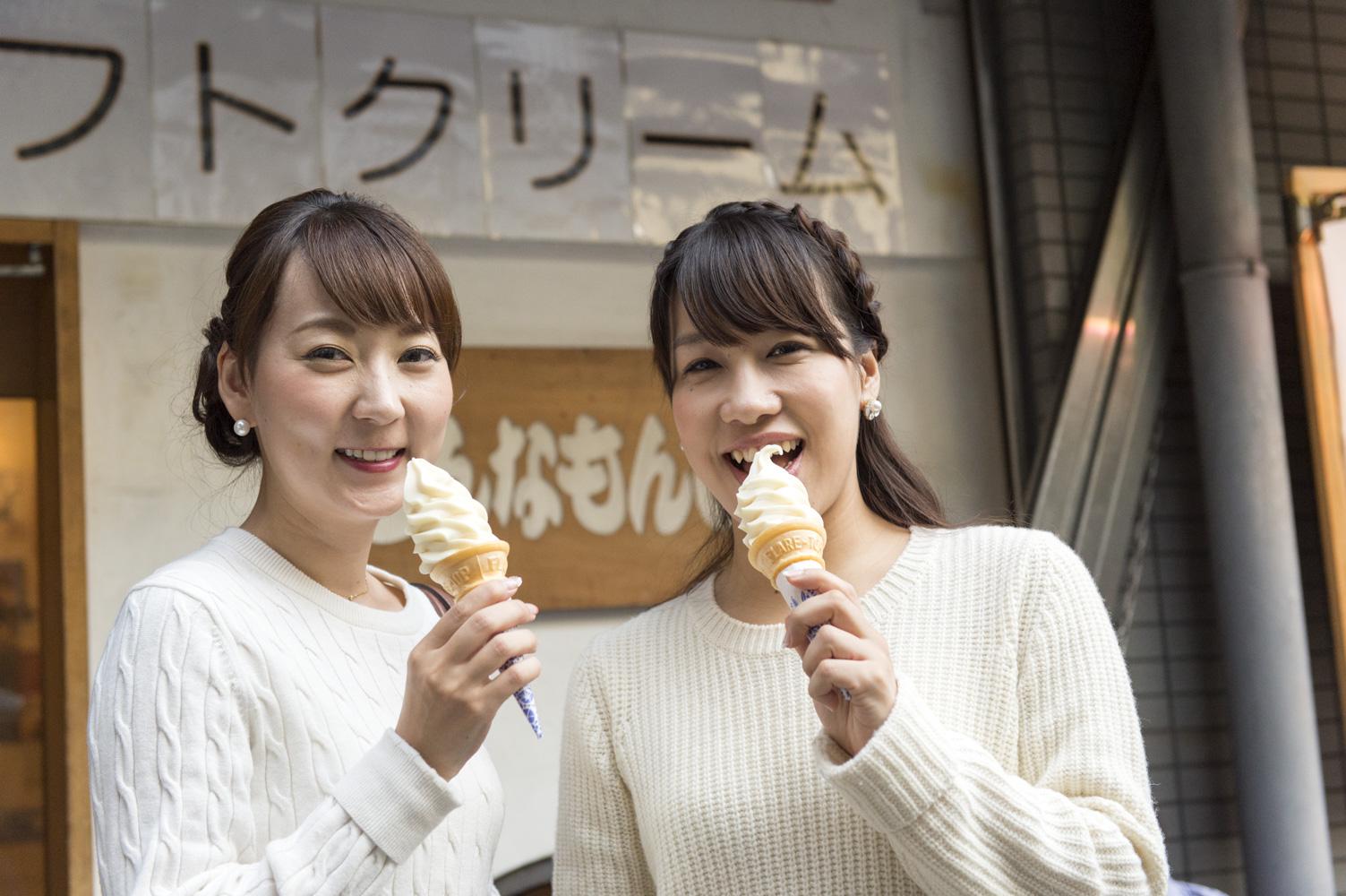 ヘルシーな豆乳ソフトクリーム♡