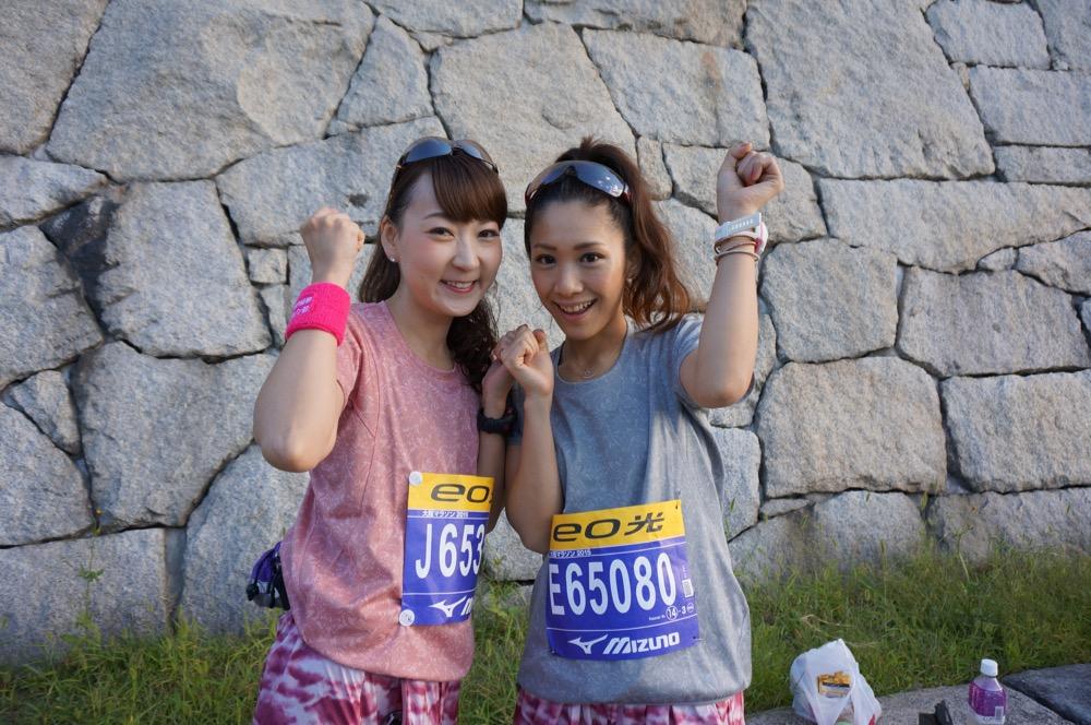 左・能美黎子さん(no.000)、右・斉井夕絵さん(no.000)。