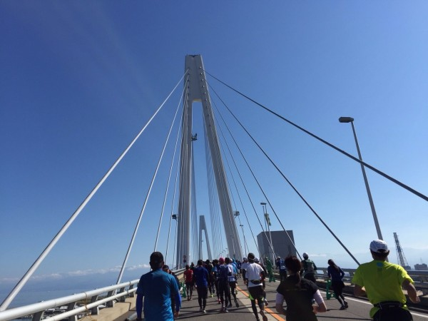 新湊大橋から見える素晴らしい景色に目を奪われます。