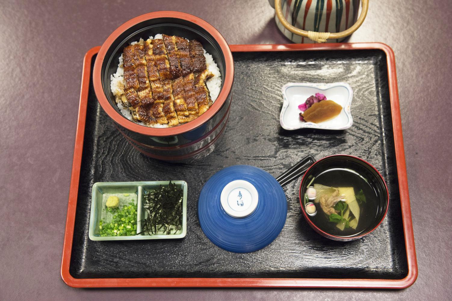 「上ひつまぶし」2,963円(税別)