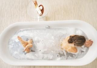 【お風呂でくびれ作り】全身むくみ緩和ストレッチ。