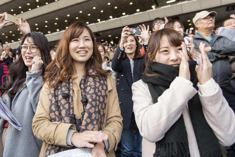 五郎丸選手やアガシさん、小室哲哉さんの登場に沸いたジャパンカップ。