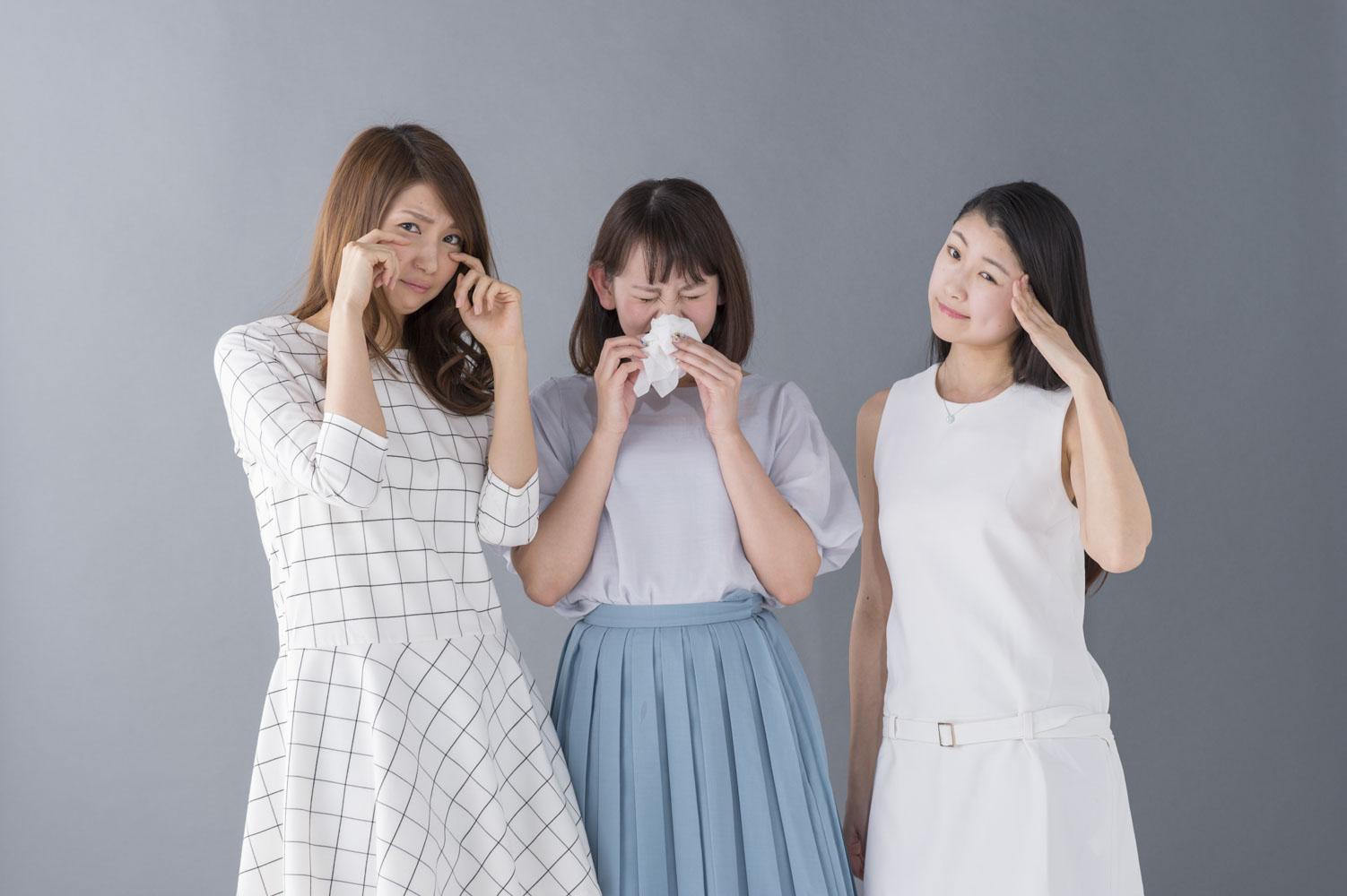 左から、李孔美さん(No.81)、荒木優里さん(No.227)、前田晴香さん(No.173)。