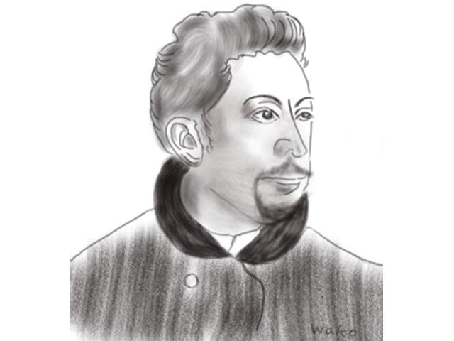 ガレ 肖像画