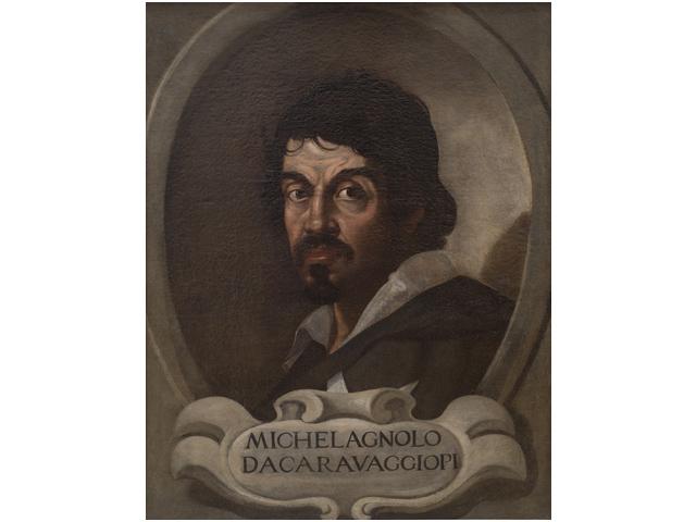 カラヴァッジョ肖像