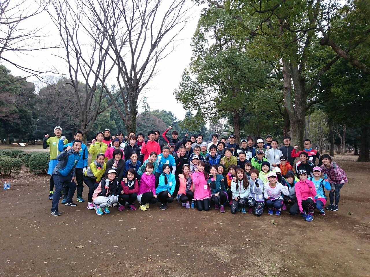 週末に実施する練習会は30km走など長距離の練習も。