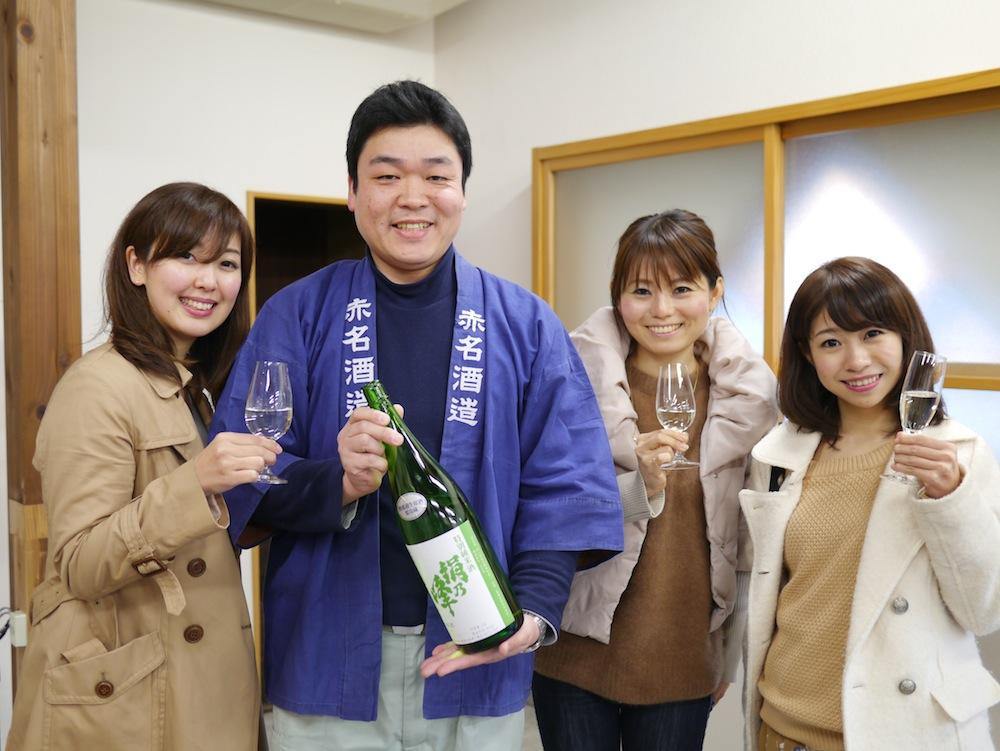 赤名酒造 三島崇暁さん