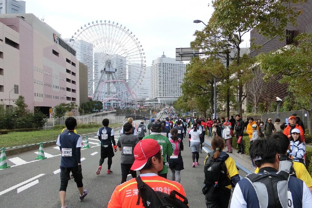 『コスモクロック(大観覧車)』」も横浜を象徴するシンボル。