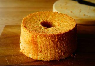 【食べる美容液!】豊かな香り&優しい甘さ『はちみつとしょうがのシフォンケーキ』。
