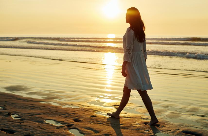 ただ座禅だけが瞑想ではなく、歩く時間も今ここに意識を向ければ、瞑想的に過ごすことが出来ます。