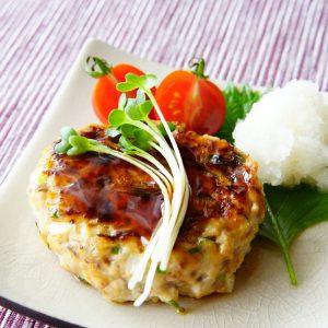 【美肌とダイエットに!】旬のアジに葱を合わせてさっぱりと♪ 『アジのハンバーグ』!