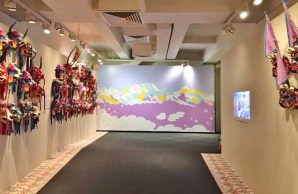 ブータン入口松尾さんの絵