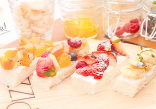 【初夏のおしゃれピクニック】 新提案♡ その場で作るフルーツたっぷりのオープンサンド♪#1