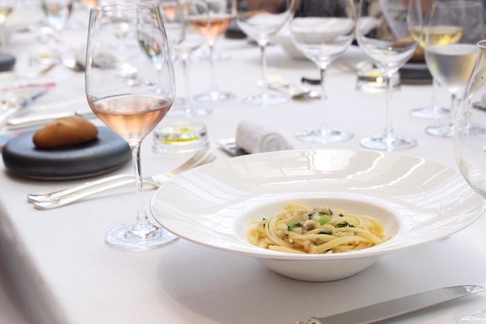 かぶとハマグリの「スパゲッティーニ」
