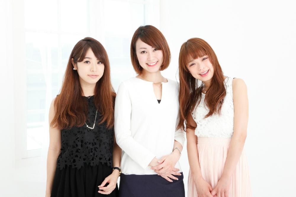 上級チームの左から、片桐優妃さん(anan総研 No.115)、久本実雅子さん(anan総研 No.82)、古角夕貴さん(anan総研 No.238)