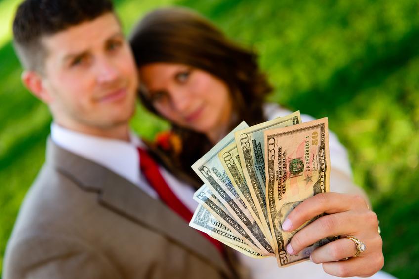 お金と結婚したの!?