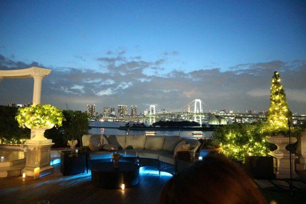 ロマンチックな夜景が出現!