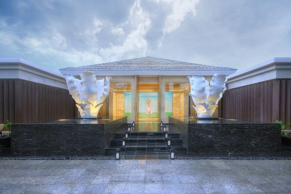 Mulia Spa - Entrance