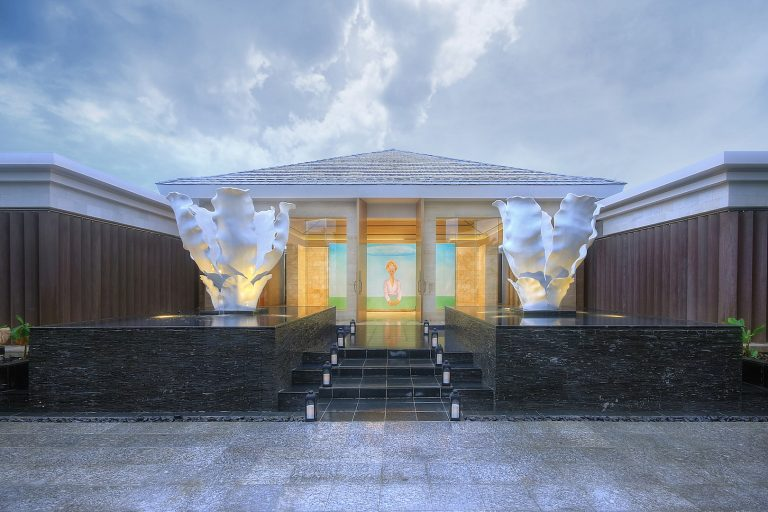 Mulia Spa - Entrance