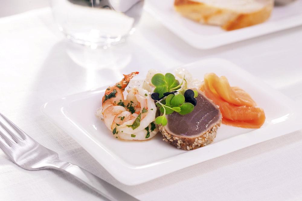ニュージーランドスタイルの美味しい機内食。(写真はイメージ)
