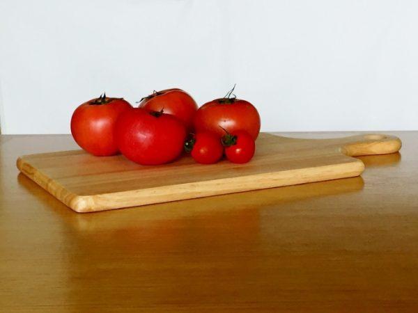 カメラテク良いトマト順光